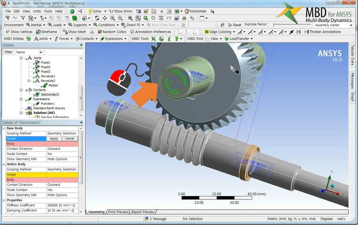 MBD for ANSYS┃FunctionBay