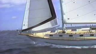 Cape Dory 36 Sailboat - vintage 1980's Sales Video tour of a classic Carl Alberg designed boat
