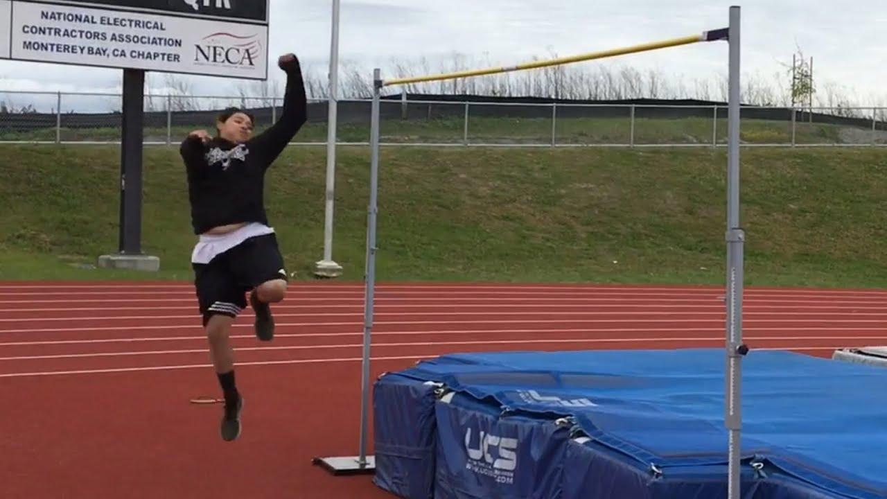 High Jump World Record!!! (7 FEET BY A GIRL) - YouTube