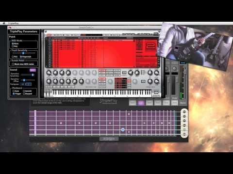 The Fishman Triple Play - Quick Look (Wireless MIDI Guitar)