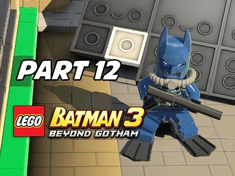 Lego Batman 3 Beyond Gotham Walkthrough Part 12 - Scuba Suit Batman ...
