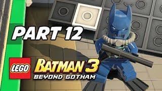 Lego Batman 3 Beyond Gotham Walkthrough Part 12 - Scuba Suit Batman (Lets Play Commentary)