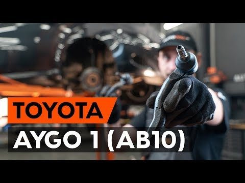 Как заменить наконечники поперечной рулевой тяги наTOYOTA AYGO 1 (AB10) [ВИДЕОУРОК AUTODOC]