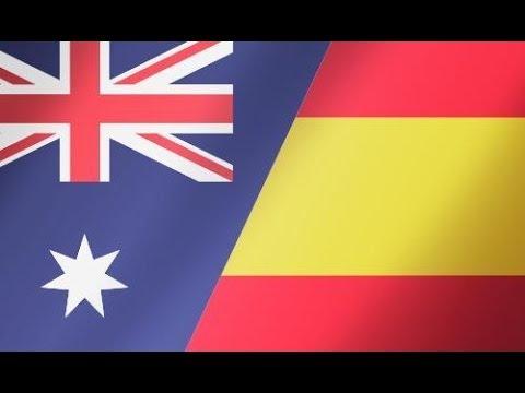 Australia vs España   Mundial Brasil 2014   PES 2014