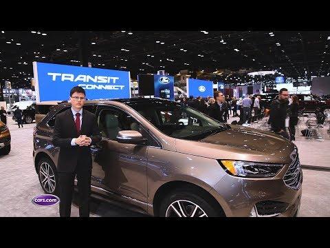 2019 Ford Edge Titanium Elite: First Look – Cars.com