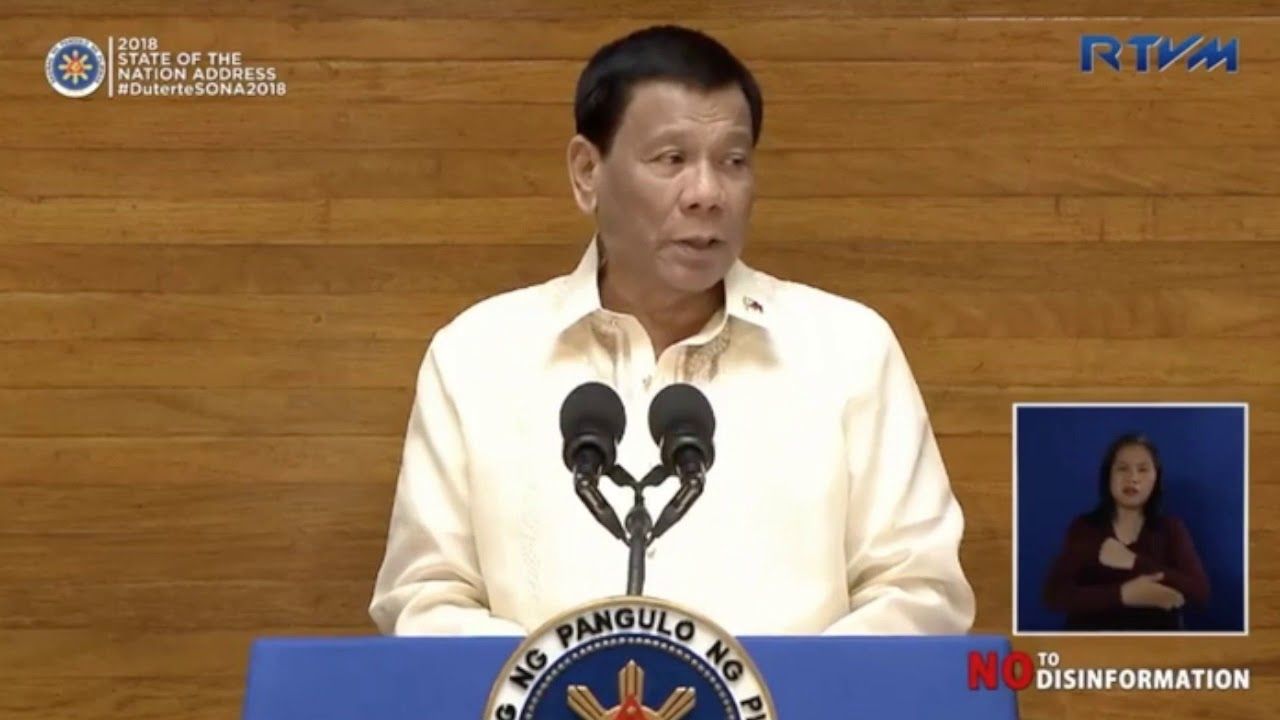 SONA 2018: PH will continue to pursue independent foreign policy - YouTube