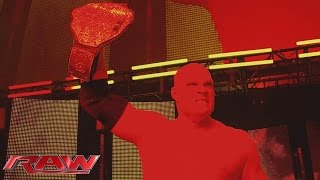 Relive the combined wrath of The Undertaker and The Demon Kane: Raw, November 9, 2015