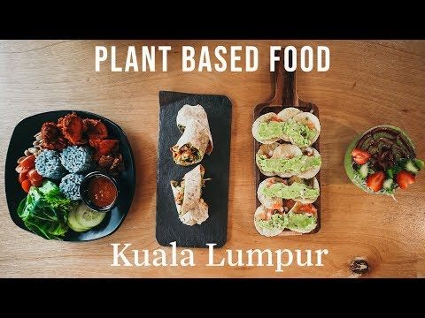 What Does a VEGAN eat in KUALA LUMPUR?