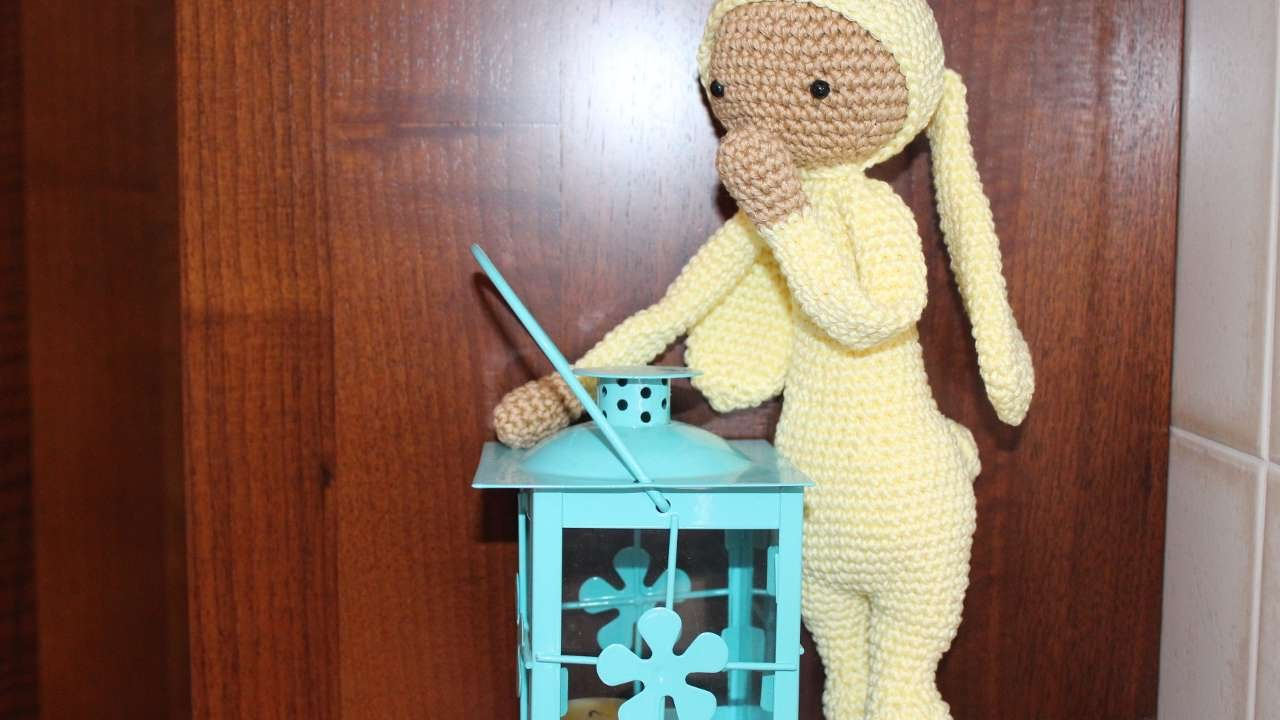 LUPO the lamb / sheep • lalylala crochet pattern / amigurumi ... | 720x1280