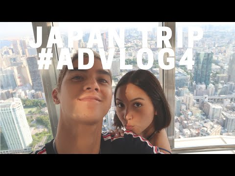OUR FIRST TIME TO JAPAN TOGETHER 🇯🇵 - #ADVLOG4