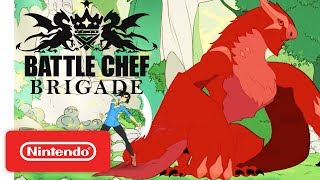 Battle Chef Brigade Release Trailer - Nintendo Switch