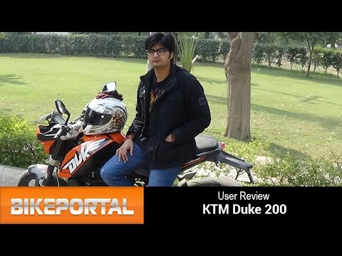 KTM Duke 200 User Review - 'A compact package' - Bikeportal
