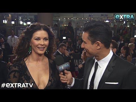 Catherine ZetaJones Reveals Why Michael Douglas Wasn't Her Golden Globes 2018 Date
