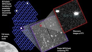NASA's Hubble Telescope Finds Kuiper Belt object (KBO) Targets for New Horizons Pluto Mission