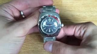 Men S Russian VOSTOK Amphibian Amphibia 090660 DIVER WATCH