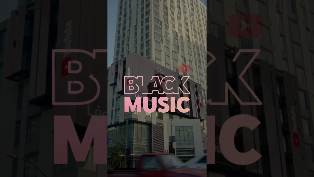 Obrigado @youtubemusic por celebrar as Vozes Negras #youtubeblack
