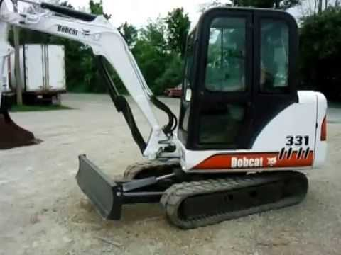 ZIEGLER 2001 BOBCAT 331 D SERIES MINI EXCAVATOR 10FT DIG DEPTH ...