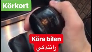 Köra bilen- رانندگي به سوئدي