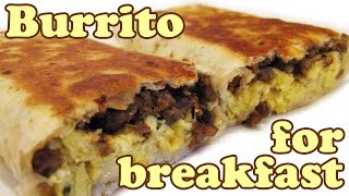 Breakfast Burrito Recipe Big Burritos Easy Recipes - Mission Flour Tortillas Tortilla - Jazevox Cook