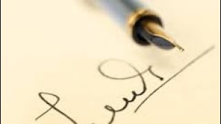 How to make Transparent signature using Adobe Photoshop