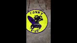 "Clay Candy Chain by Kashis Klay Chains ""Funky Pup"""