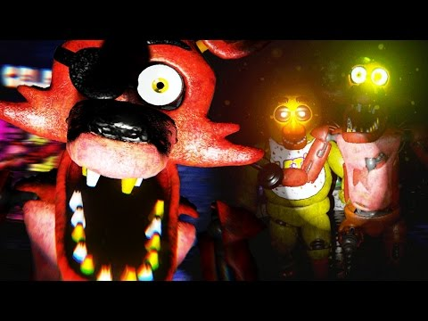 CHASED BY TERRIFYING NEW ANIMATRONICS | Five Nights at Freddys 3D (FREE ROAM Five Nights at Freddys)