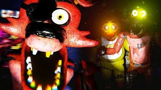 CHASED BY TERRIFYING NEW ANIMATRONICS Five Nights At Freddys 3D FREE ROAM Five Nights At Freddys