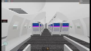 ROBLOX British Airways Flight Take-Off