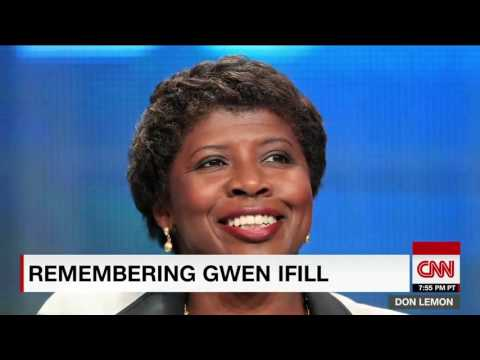 Don Lemon tears up talking about Gwen...