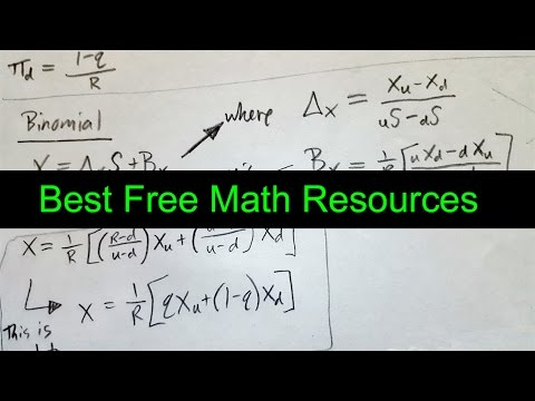 Best Free Math, Stats, and Financial Engineering Resources