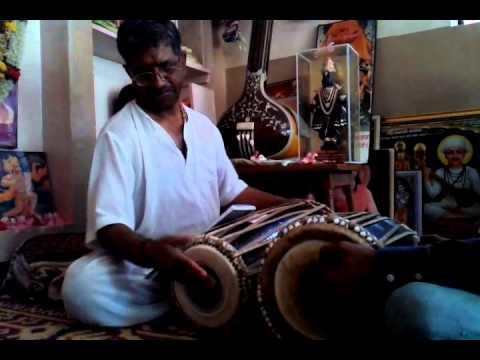 Dheer Dheer Kitatak Taa Tirakitatak Pakhawaj - Pt, Ashokji M. Panchal