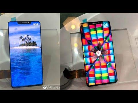BOE OLED Phone First Look