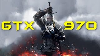 The Witcher 3 Wild Hunt GTX 970 NON-OC | 1080p Ultra Settings | FRAME-RATE TEST