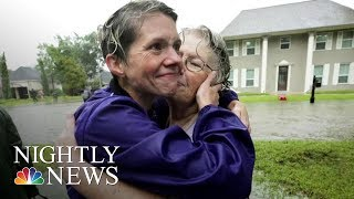 Houston And New Orleans  Tested By Tragedy, Bound By Resilience | NBC Nightly News