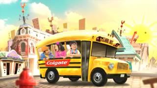 Make Brushing Teeth Fun for Kids with Colgate's Brush Brush Brush Song