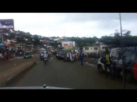 Driving around Freetown pt2