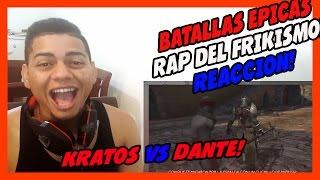Kratos vs Dante - Épicas Batallas de Rap del Frikismo - Keyblade - VIDEO REACCION!!!