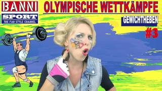 FACEBOOK Trailer Gewichtheben Weightlifting Halterofilia Olympic Wettkampf Sport Fan Style & Make-up