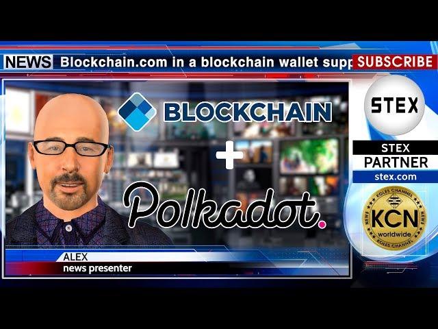 KCN Blockchain.com now support Polkadot Network token