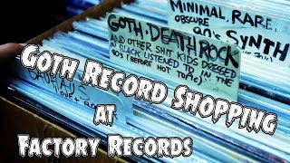 Goth Record Shopping: Factory Records in Costa Mesa - GothCast