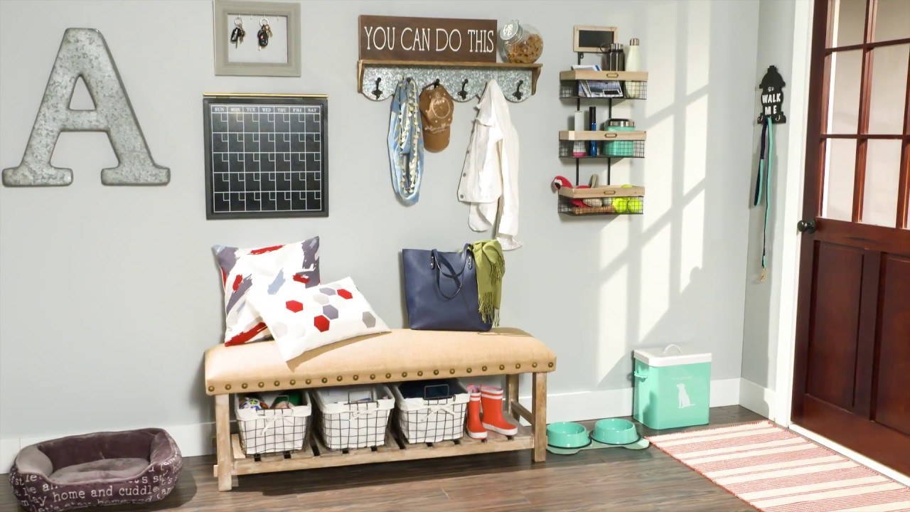 Entryway Command Center - YouTube