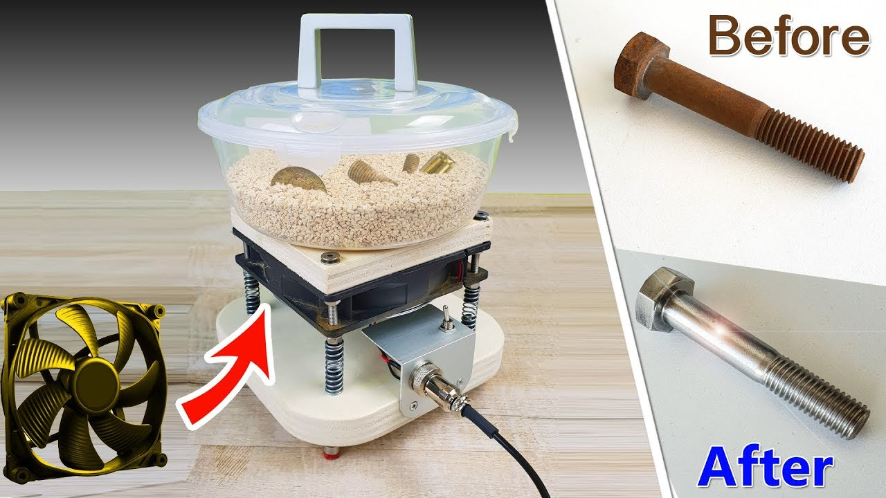 Buratto fai da te con ventola tumbler machine diy with for Copertura pergolato fai da te