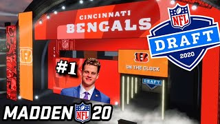 2020 NFL Draft, but its decided by Madden