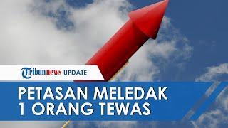 Tribun-video.com - sukarto (55), warga desa wonojati, kecamatan jenggawah, meninggal dunia lantaran ledakan mercon yang dibuatnya sendiri, rabu (27/5/2020).l...