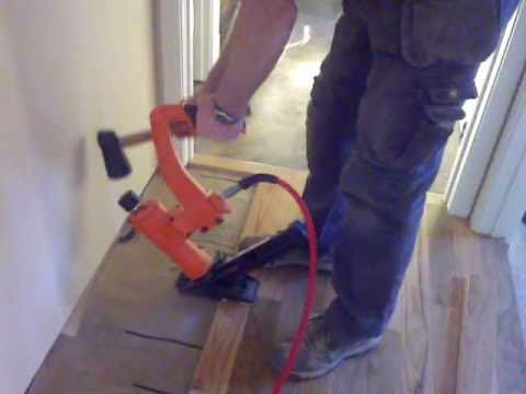 Installing Hardwood Floors In Hallways Tight Spots Angles And