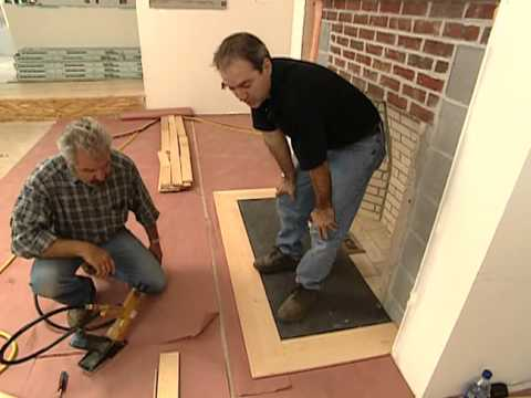 How To Install Flooring And Insulation Vermont Farmhouse Bob