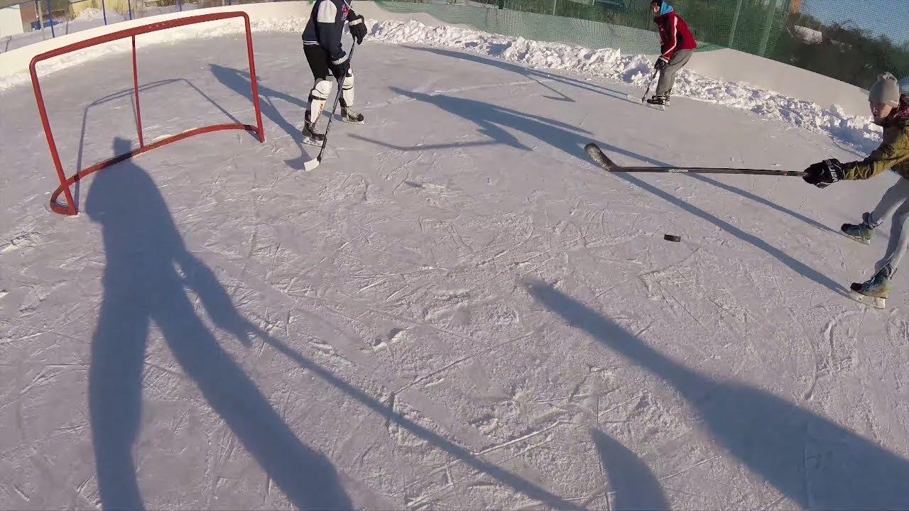 Хоккей, который мы стали забывать / Russian street Hockey