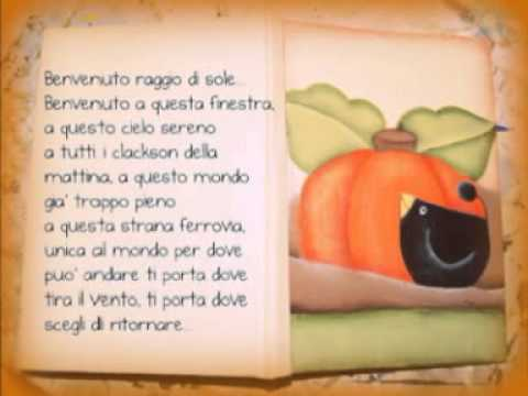Francesco De Gregori Benvenuto Raggio Di Sole Youtube