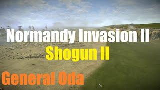 Shogun 2 Massive Battle - Normandy Beach Invasion II (3,204 vs 20,000) HD