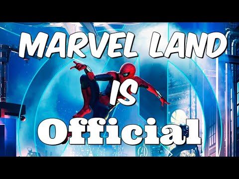 Marvel Land At Disney California Adventure Officially Announced!!